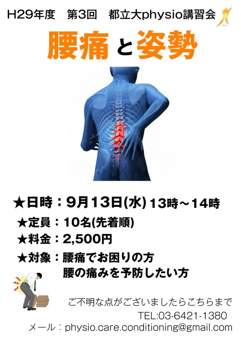 腰痛と姿勢