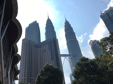 Walking around at Kuala lumpur on Sunday