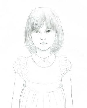Alice、 鏡 (下絵) 4.26 Torubido