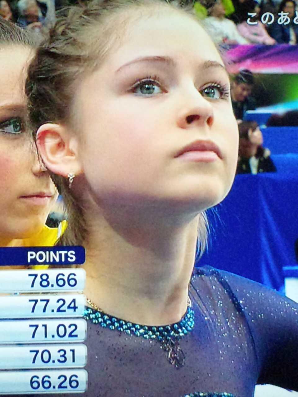リプニツカヤ 3.27 フィギュア世界選手権