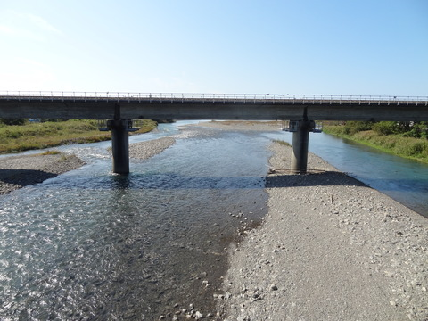 伊尾木川下流域