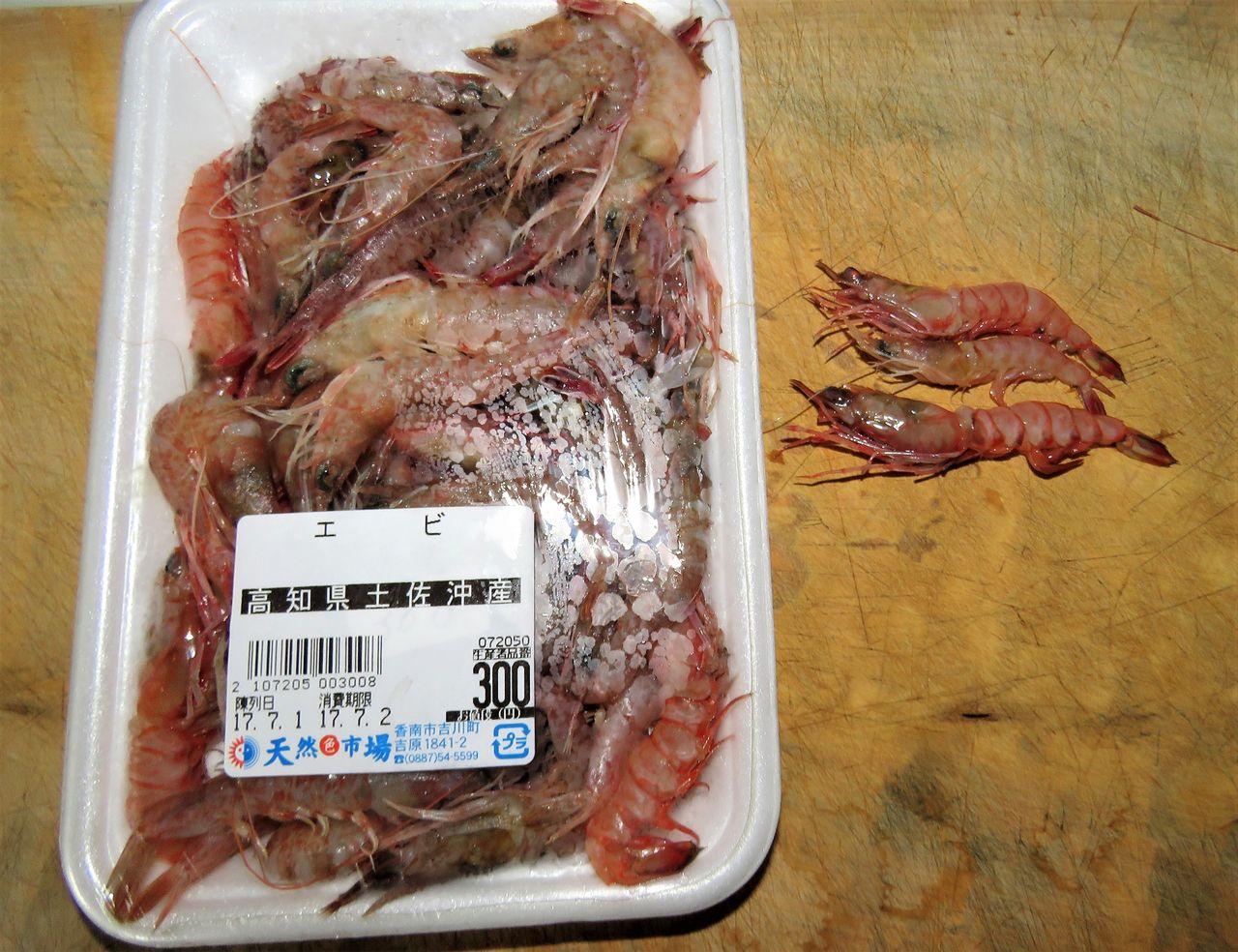猿蝦(サルエビ) : 土佐料理 旬...