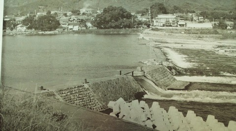 昭和の山田堰