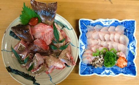 オオモンハタ料理