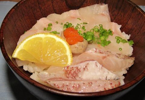 アカムツ海鮮丼
