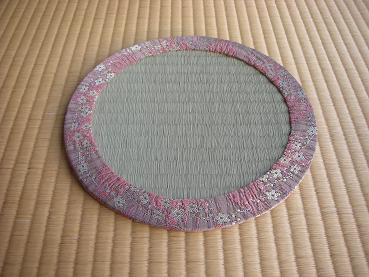 丸畳ピンク
