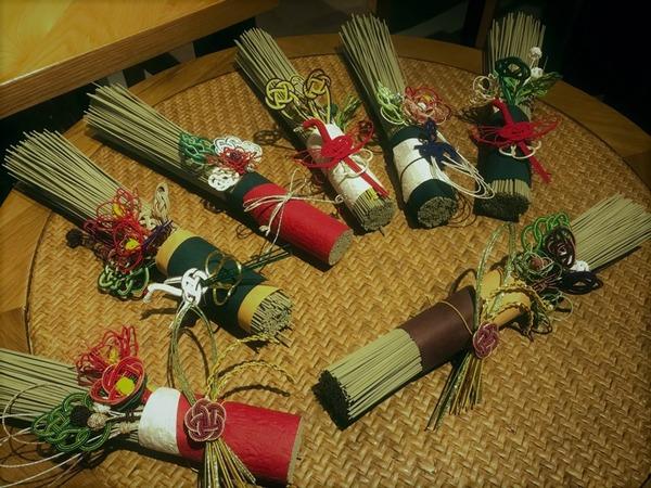イ草のお正月飾り01 (2)