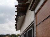 施行前の屋根