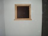 トイレ側から見た欄間枠