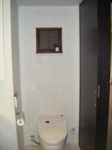 完成:欄間トイレ側