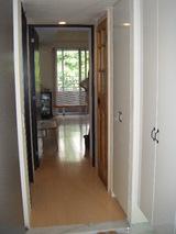 完成:玄関から廊下