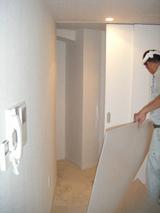施工前収納スペース