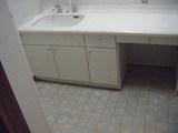 施工前洗面所