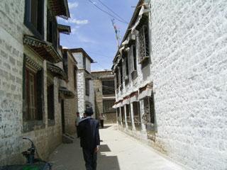 ラサの路地