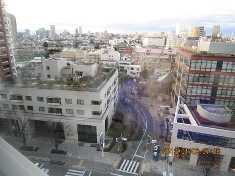 六本木ヒルズから東京の風景