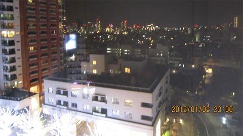 六本木ヒルズ夜景