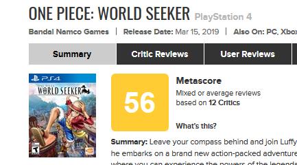 One Piece- World Seeker for