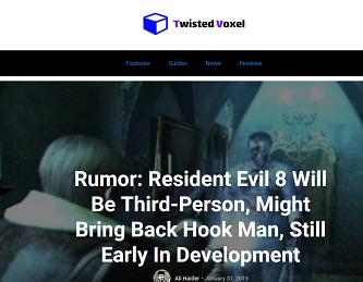 Rumor- Resident Evil 8