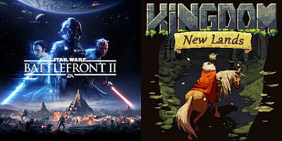 PS Plus 2020年6月のフリープレイに『STAR WARSバトルフロントII』『Kingdom New Lands』が登場、『CoD WWII』がディスカウントで100円!!
