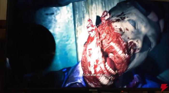 『バイオハザード RE:2』実機プレイ映像 (5)