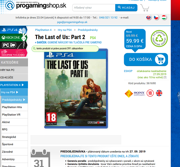 The Last of Us- Part 2 - PS4 - 190423-072654