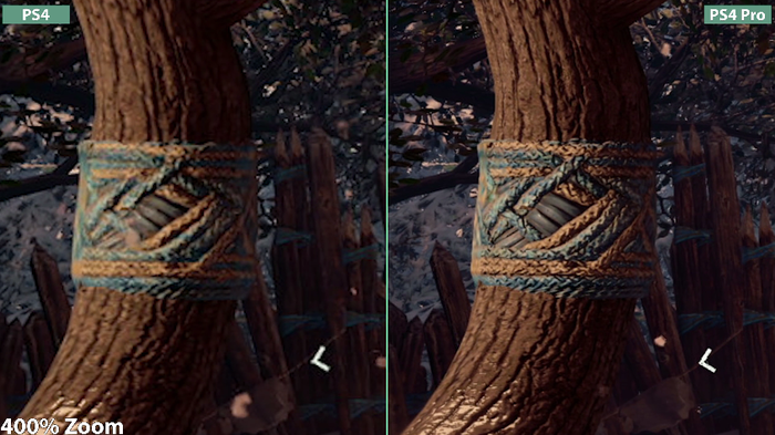 PS4 Pro 4K Mode Graphics Comparison - YouTube
