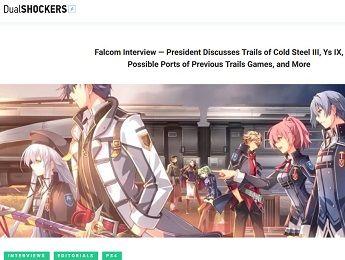 Falcom Interview