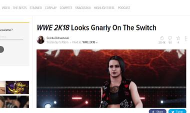 WWE 2K18Looks