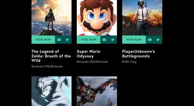 Awards - The Game Awards