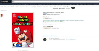 super-mario-collection-amazon-listing-leak