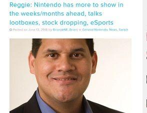 Reggie- Nintendo