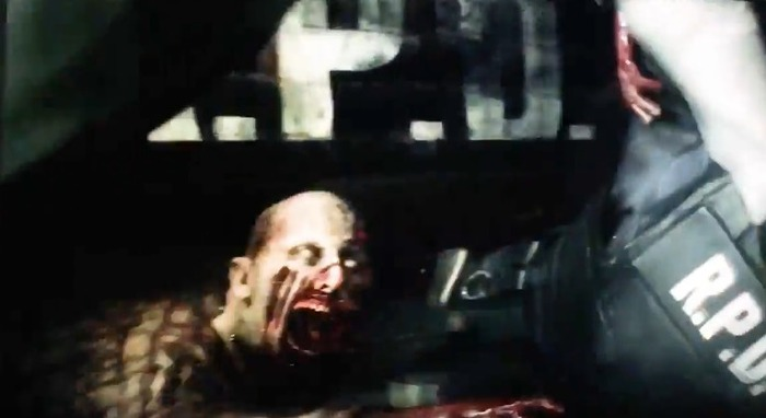 『バイオハザード RE:2』実機プレイ映像 (4)