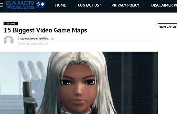 15 Biggest Video Game Maps