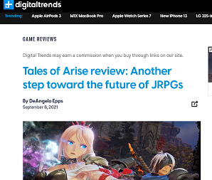 Tales of Arise Review-