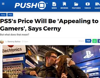 PS5's Price