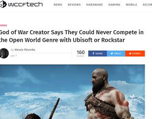 God of War Creator Says