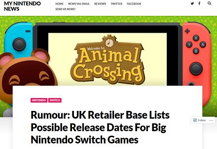 Rumour- UK