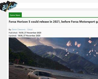 Forza Horizon 5 could