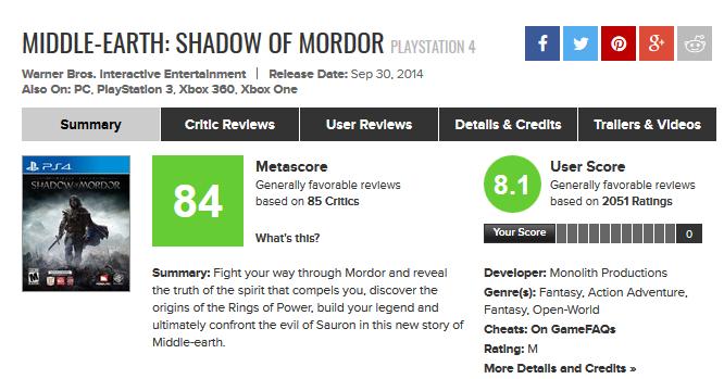Metacritic (2)