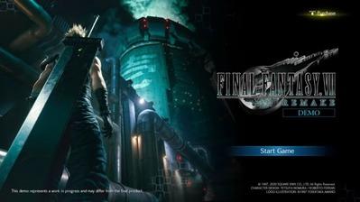 PS4 Leaked FFVII Remake Demo