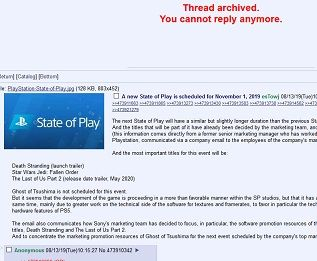 -v- - A new State of Play