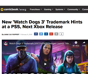 New 'Watch Dogs 3'