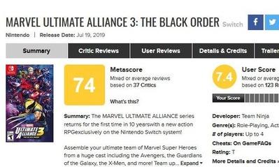 Marvel Ultimate Alliance 3-
