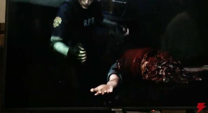 『バイオハザード RE:2』実機プレイ映像 (3)