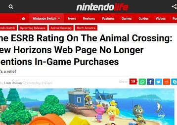 The ESRB Rating On