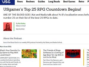 USgamer's Top 25 RPG