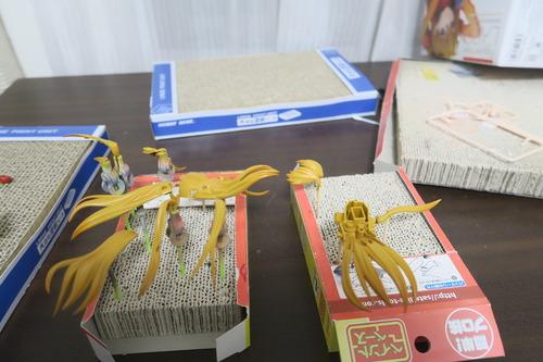 【Figure-rise LABO アスカ 製作日記3】塗装完了~完成
