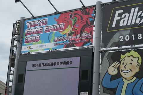 東京ゲームショーにいってきました