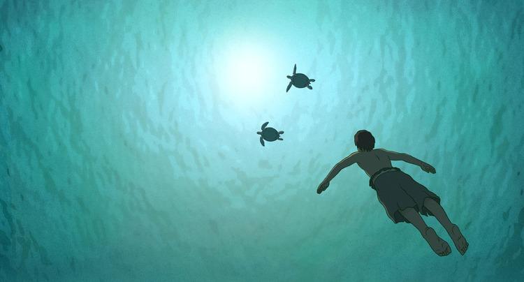 07 レッドタートル ある島の物語:The Red Turtle