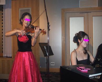 バイオリン ピアノ